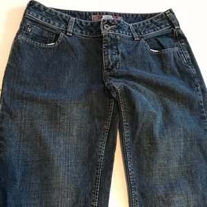 Vintage 90s Silver Jeans Low Boot Cut Medium Wash